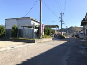 廃車ドットコム・岐阜の入り口付近