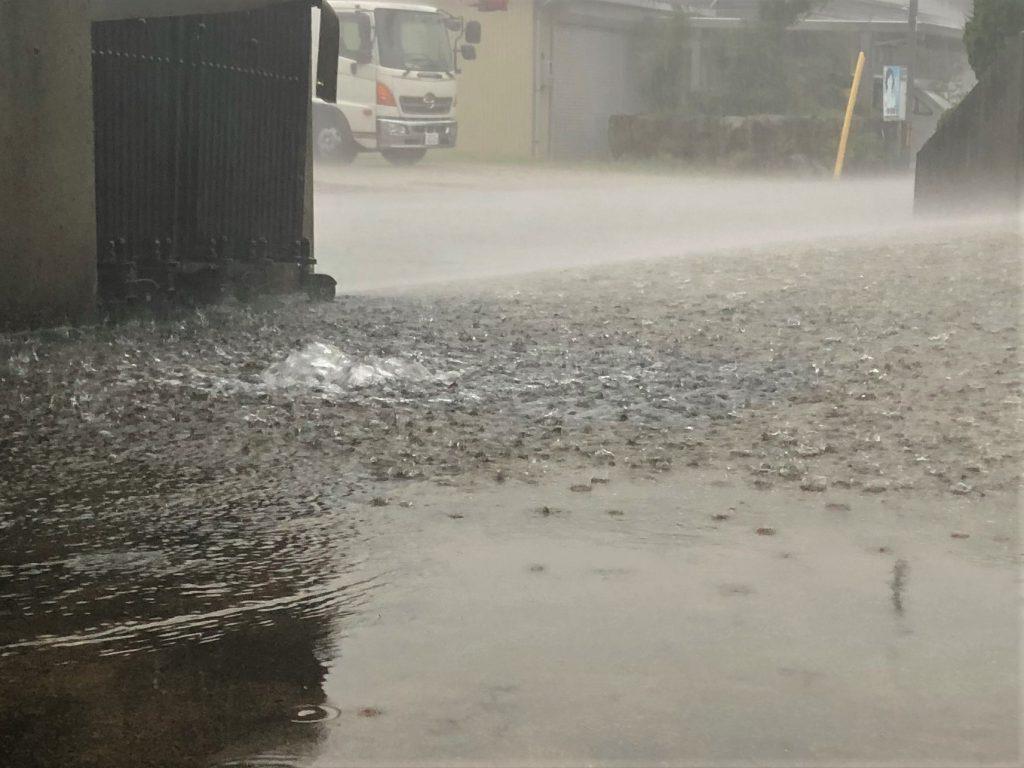 近年は大雨による被害が甚大化している